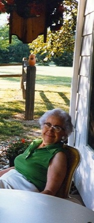 Look!  An old picture of Grandma I just found.
