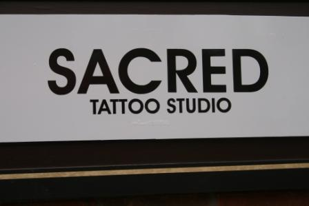 We even feature a Sacred Tatoo Studio.