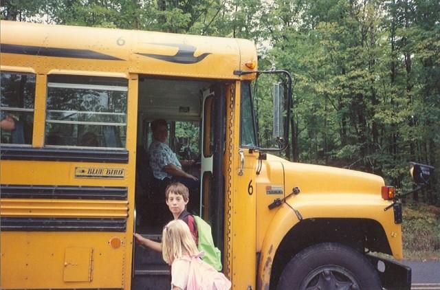 When my babies started school