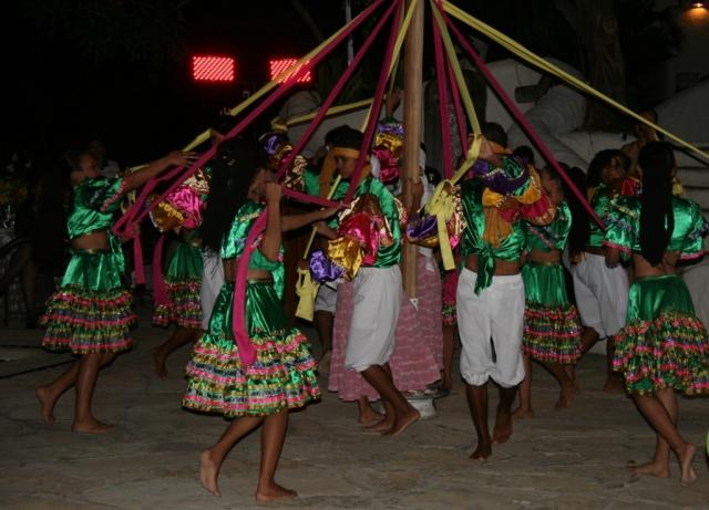 Traditional Maypole dance