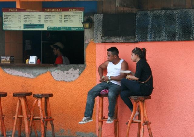 Would you like a taco, mi amor?