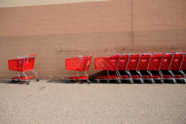 The shopping cart that questions reality