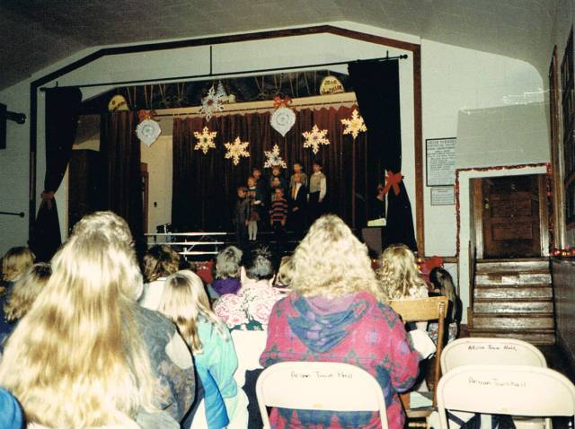 The Christmas Program, circa 1994