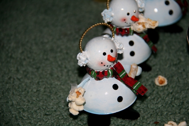 Those crafty little snowmen...