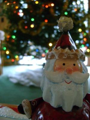 Santa, Santa (you David Sedaris fans recognize this reference)