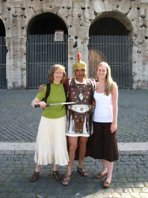 And save her mama from Roman gladiators who scammed them (NOT!)