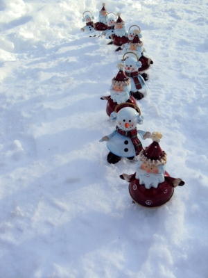Tomfoolery of our Santas and Snowmen