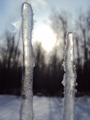 OK, ice can be pretty.  Sometimes.