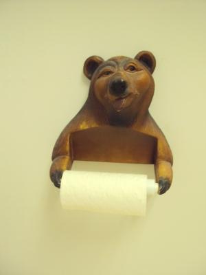 One weird bear.
