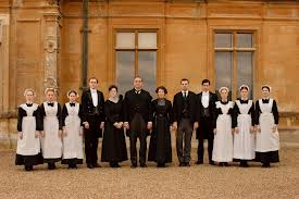 The staff.  Downton Abbey.