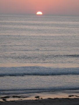 Sunrise, sunset...