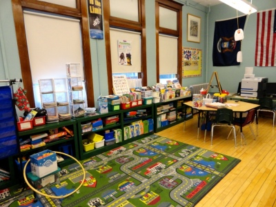 Kindergarten - 2nd grade room