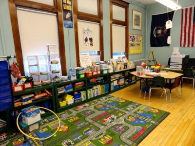 Kindergarten - 2nd grade room