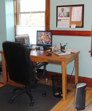 This is the Business Manager's office.  Can anyone guess who the Business Manager might be?
