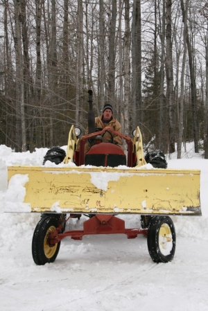 See odd view of plow that Kathy likes.