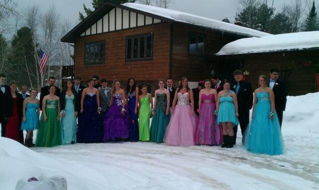 Prom in Winter Wonderland