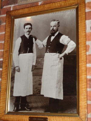 The Founders of the Vierling Restaurant. OK, they don't look that colorful, do they?