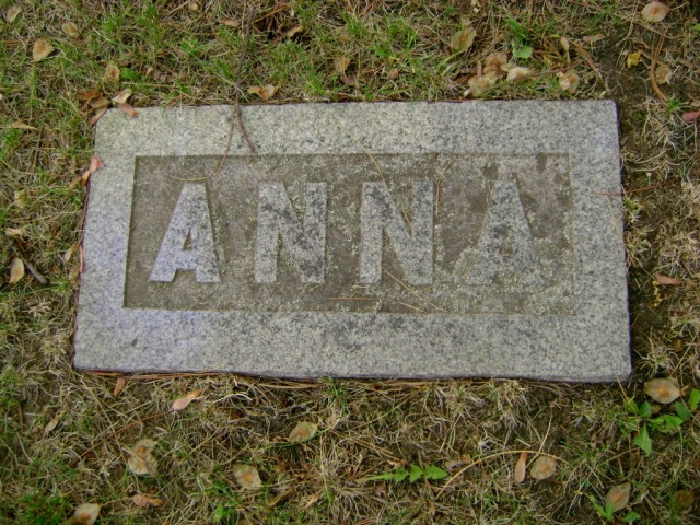 Anna, dear Anna, why did you leave us so soon?