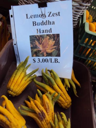 Lemon Zest Buddha Hand