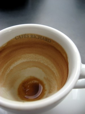 Not my coffee cup.  But close enough for you to imagine...