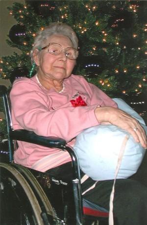 An elderly friend in the nursing home