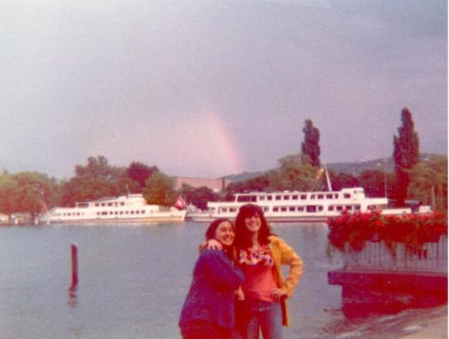 Terry and Suzanne.  It was a rainbow of a summer...