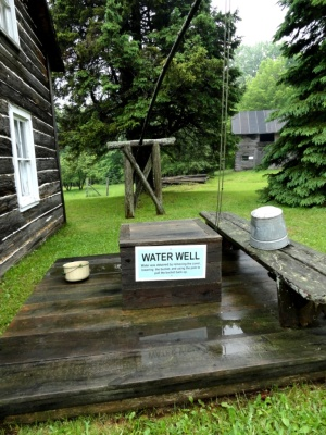 Where the family drew water to drink.