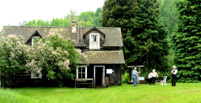 Finnish music, the old homestead, the blossoms from another time.