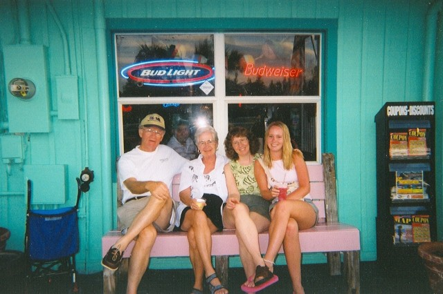 Remember waiting to eat at the Fish House in Florida how many  years ago?