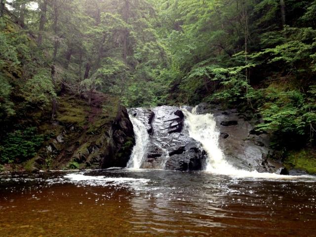 The Slate River Falls