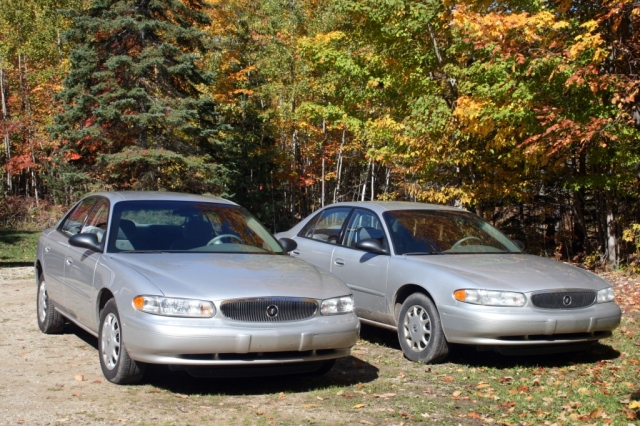 One silver car, two silver cars...