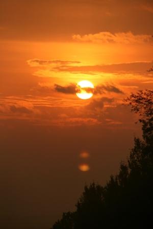Sunrise over Huron Bay