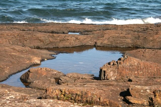 Pools among the rocks