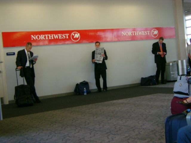 Back when Northwest Airlines still existed
