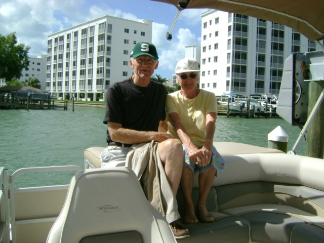 On the boat in Florida about 2010