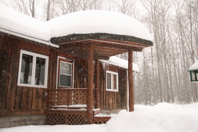 Our little house in the Big Snow