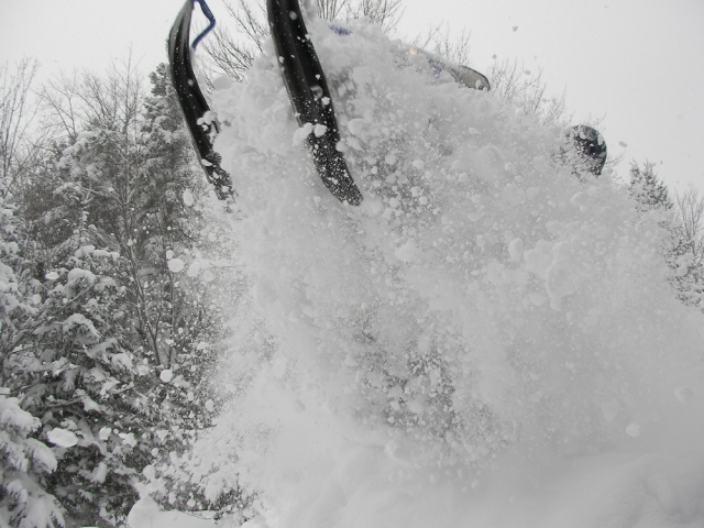 All these photos by Chris Ford, who works at the Sentinel with Barry.  He's a snowmobiler.