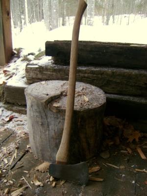 Stump, maul