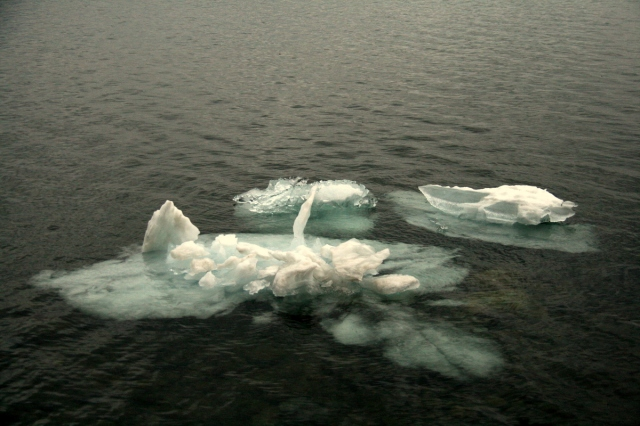 Lake Superior, it's said, never gives up her icebergs (sometimes until June)