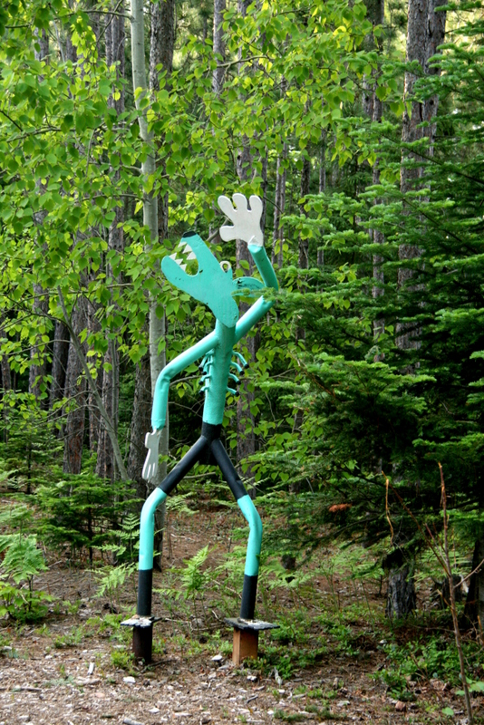 A little dancin' in the woods, anyone?