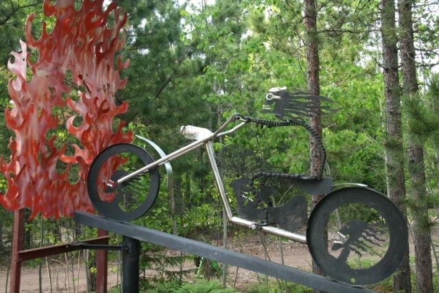 Evel Knievel of the Upper Peninsula!