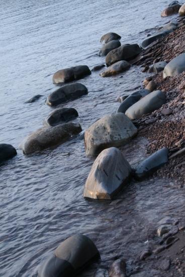 Lake rocks