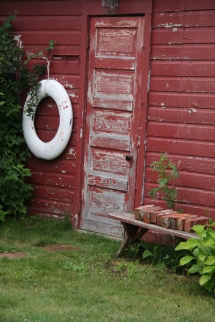 Yet another weathered doorway