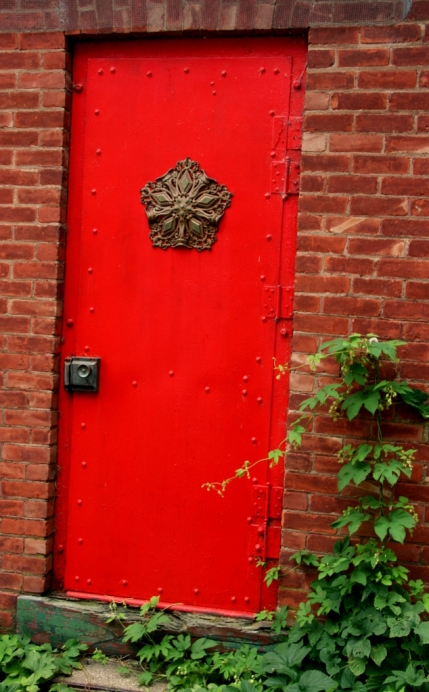 The red door of possibility