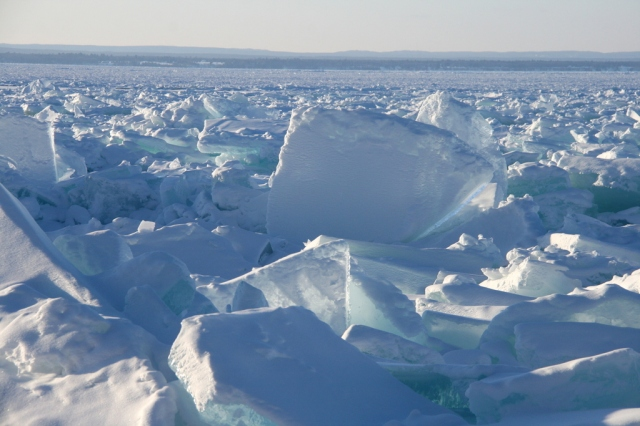 Ice boulders