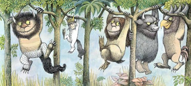 Where the Wild Things Are--a perfect visual description of cattywampus