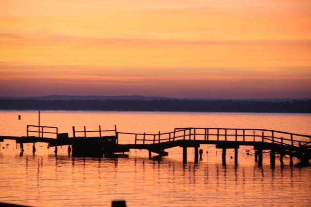 Bridge onto a new day