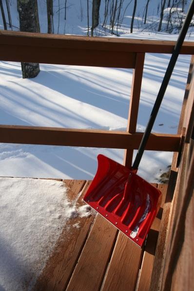 Our new wide deck-shoveling shovel