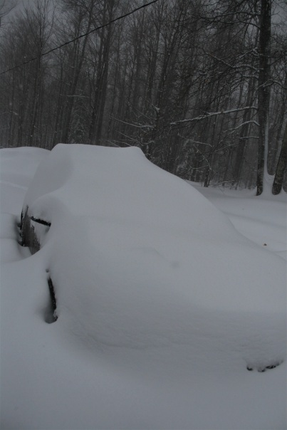 Is this a Chevy Malibu or a lump of snow?
