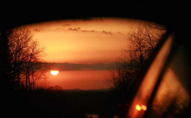 Through the rear-view mirror March 2012